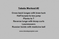 Monday Moves: A 24 minute workout