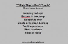 Workout: Till My Thighs Don't Touch & GenetixHD