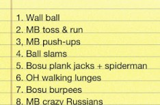 Fitness Friday: Balls to the Wall
