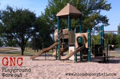 GNC Summer Series Playground workout