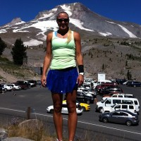 Hood to Coast Relay_Mount_Hood_Blond_ponytail