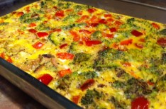 Breakfast For The Week: Egg Casserole