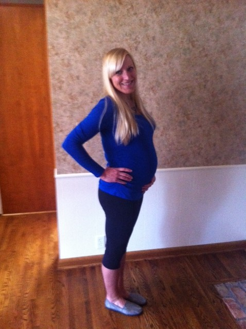 31 week_belly