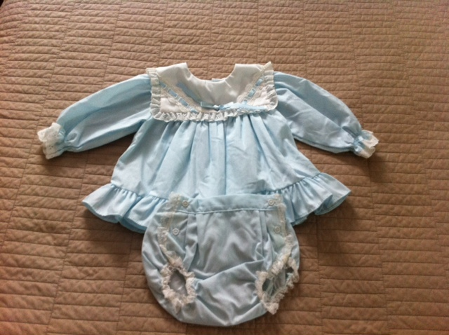 Baby Girl Blue Dress