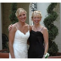mom & daughter wedding