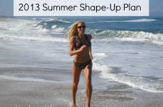 Summer Shape-Up Plan Blonde Ponytail