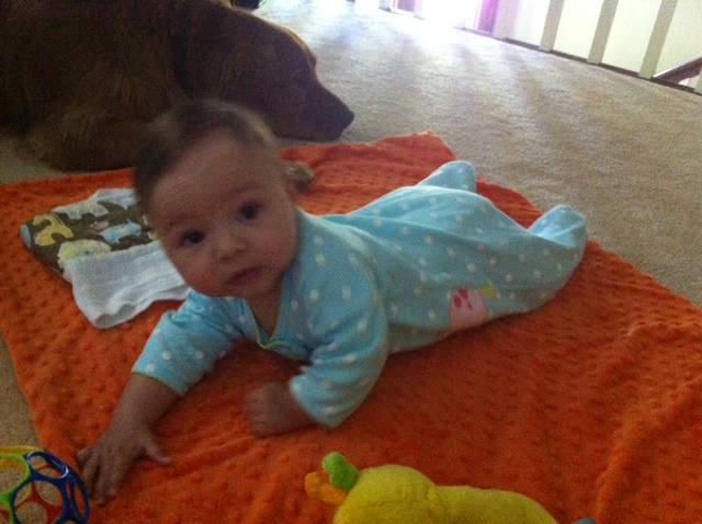 Tummy Time Jada