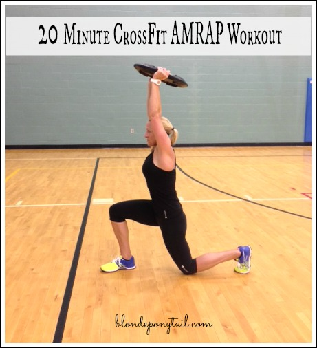 20 Minute AMRAP CrossFit Workout