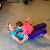 Exercising with kids_1