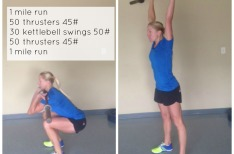 Running Workouts with Weights {pinnable images}