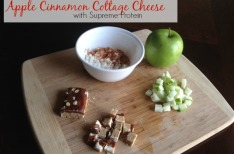 Apple Cinnamon Cottage Cheese