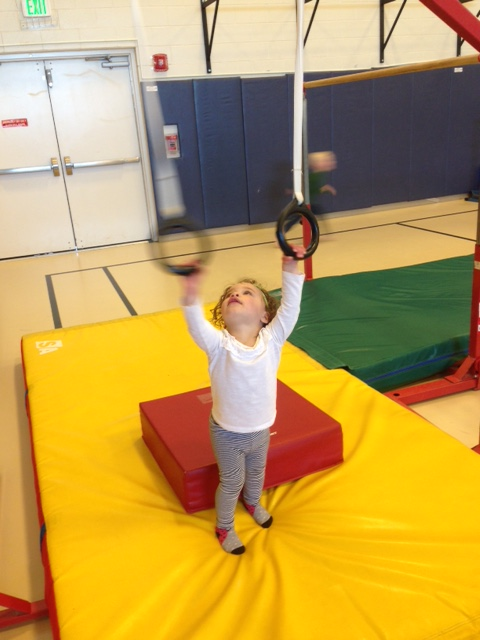 Toddler Muscle Ups