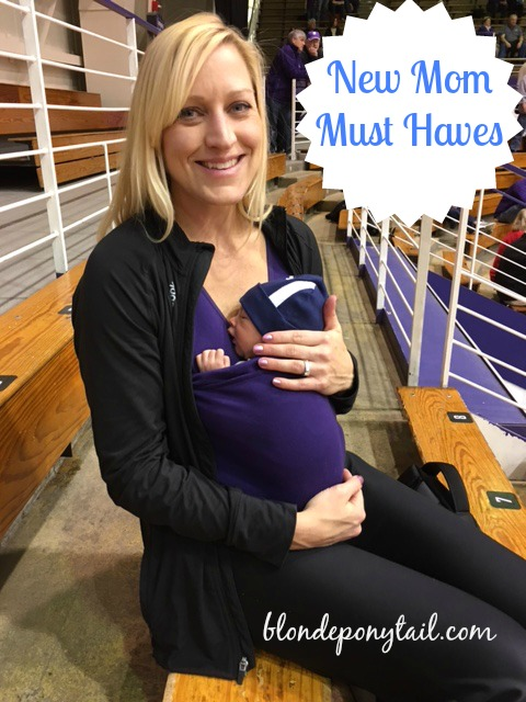 New Mom Must Haves Blonde Ponytail